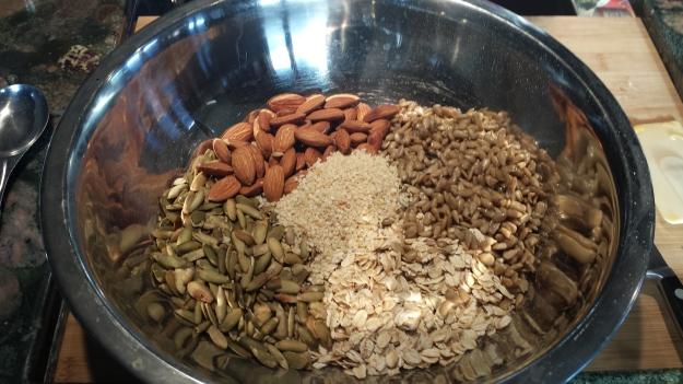 Oat Nut Bars 6