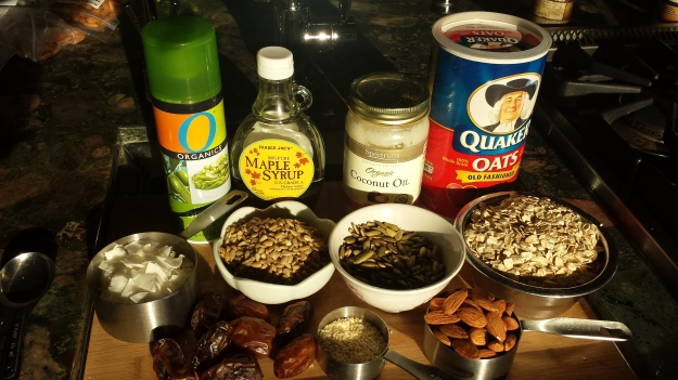 Oat Nut Bars 9