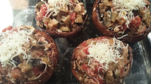 portobello mushrooms uncooked