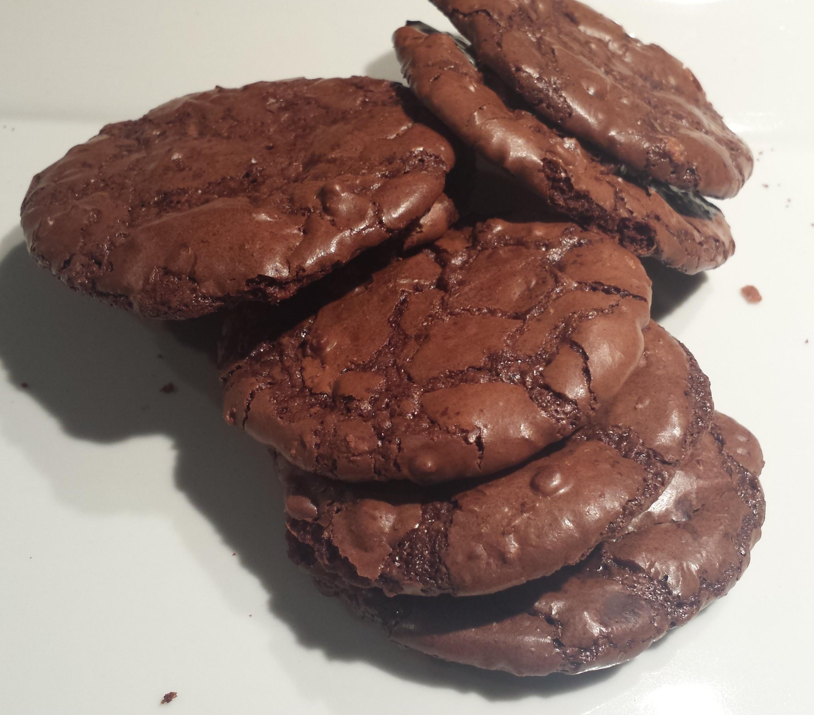 Flourless Chocolate Brownie Cookie1