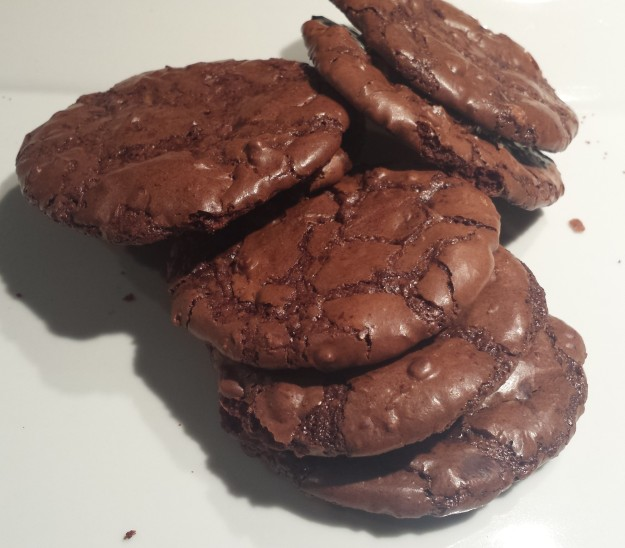 Flourless Chocolate Brownie Cookie1