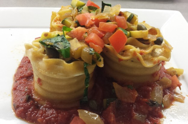 Lasagne pinwheels 3