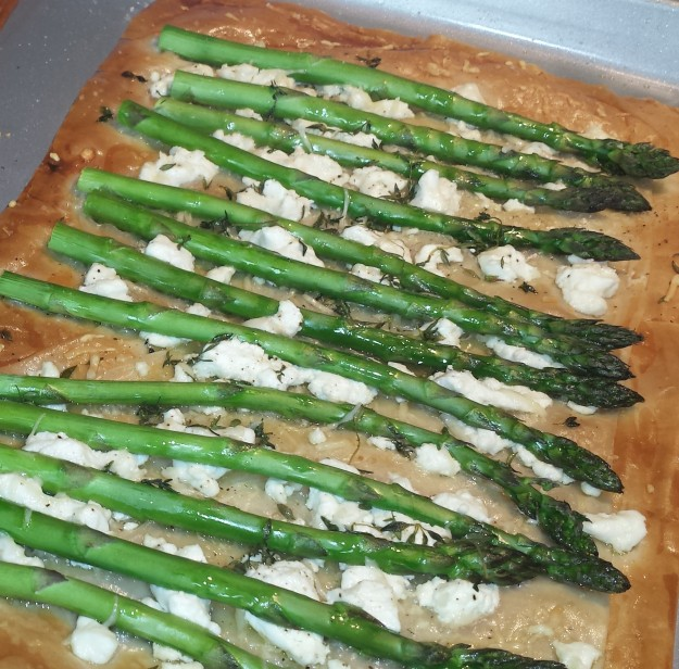 Asparagus and Goat Cheese Tart5