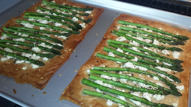 Asparagus and Goat Cheese Tart6