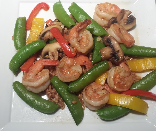 Shrimp & Sugar Snap Peas1