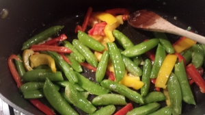 Shrimp & Sugar Snap Peas4
