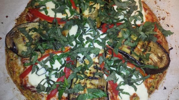Zucchini Crust Pizza1
