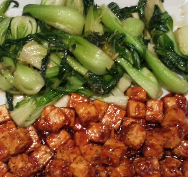 Tofu and Bok Choy9