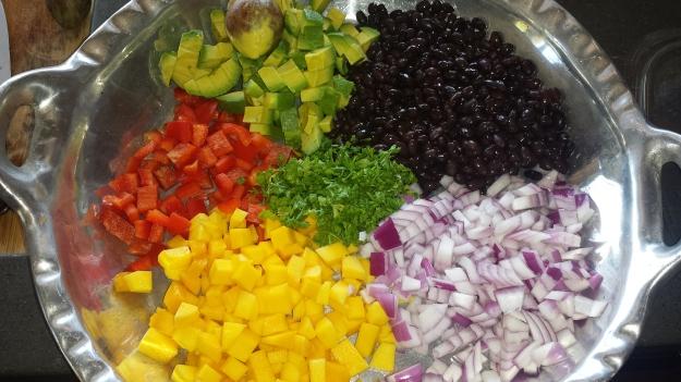Black Bean Mango Quinoa Salad3