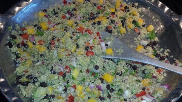 Black Bean Mango Quinoa Salad8