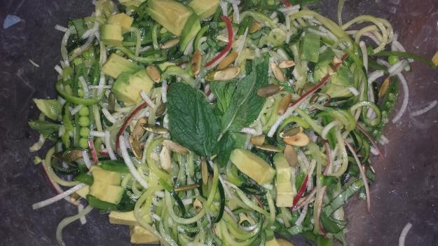 Zucchini Spiral Salad3