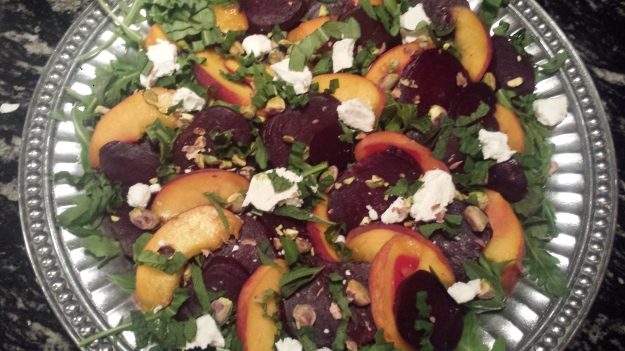 Beet Peach Salad11