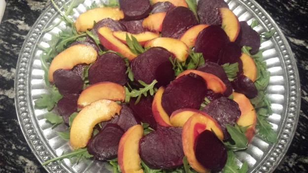 Beet Peach Salad9