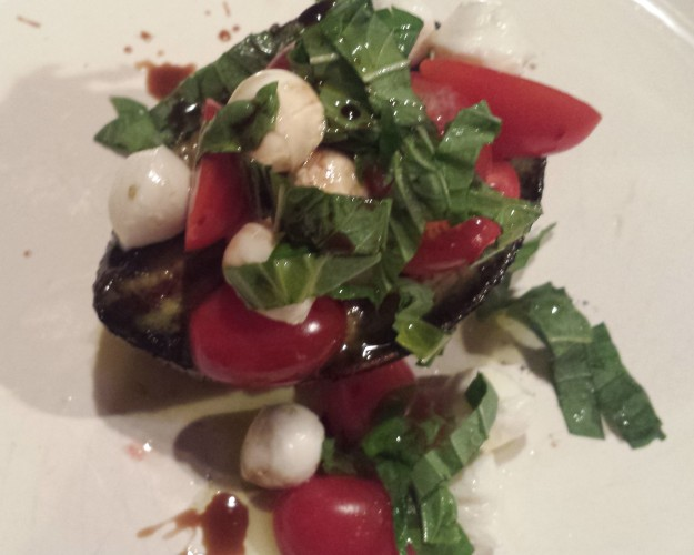 Grilled Avocado Caprese Salad10