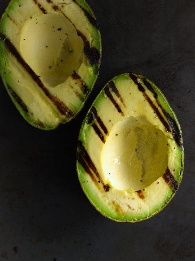 Grilled Avocado Caprese Salad11