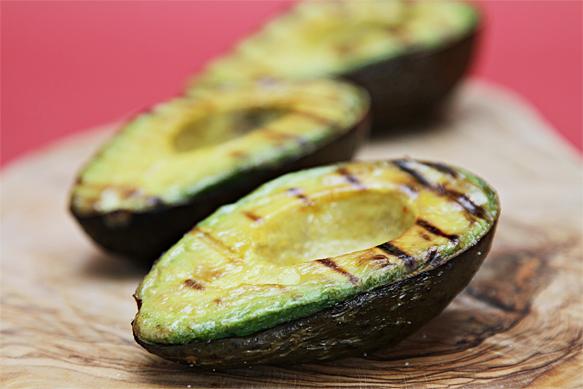 Grilled Avocado Caprese Salad12