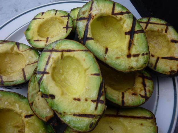Grilled Avocado Caprese Salad13