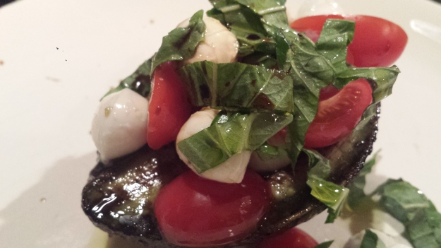 Grilled Avocado Caprese Salad8