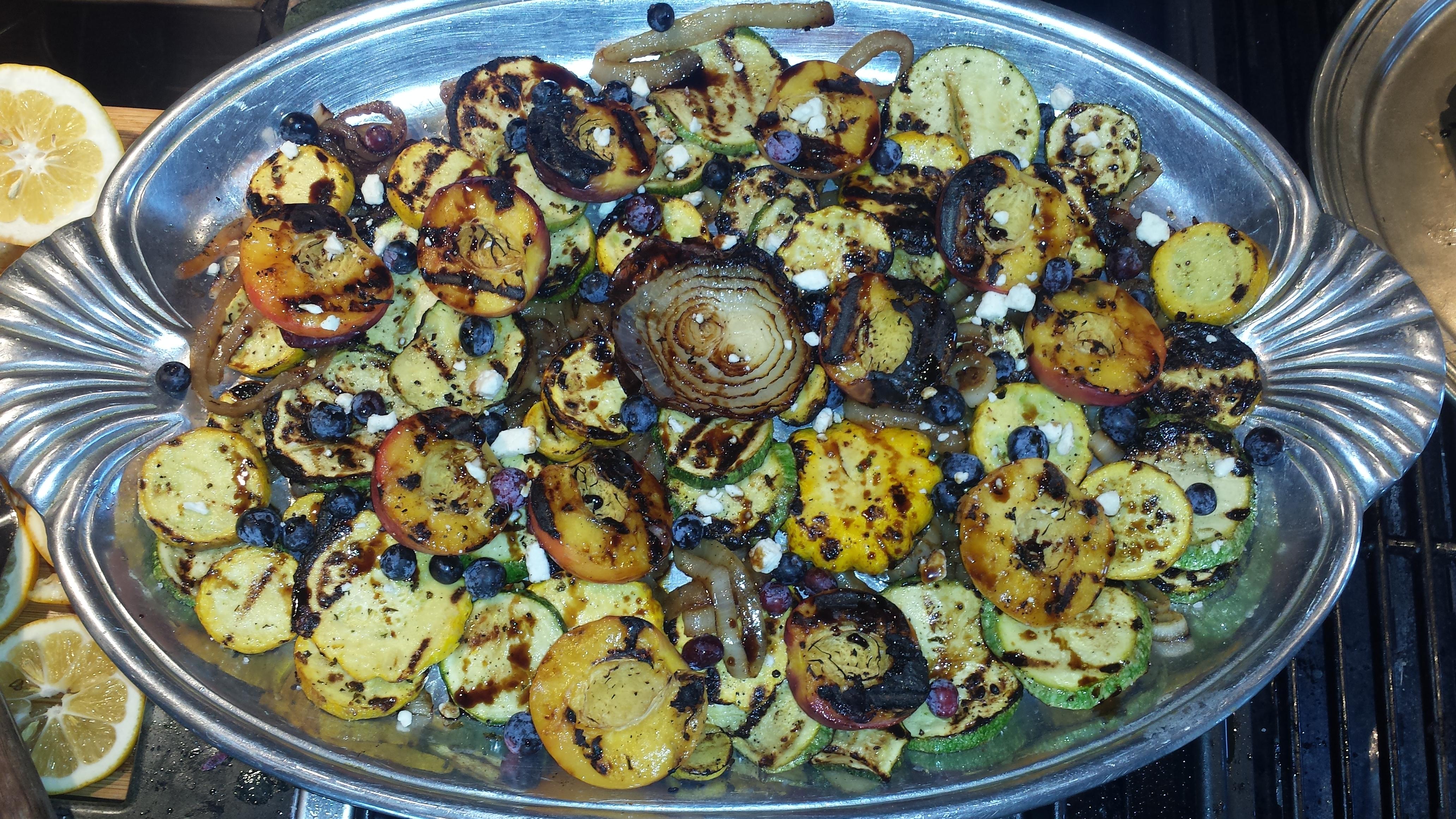 Grilled Vegetable Salad Capri-Style Recipes — Dishmaps