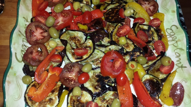 Eggplant Salad7