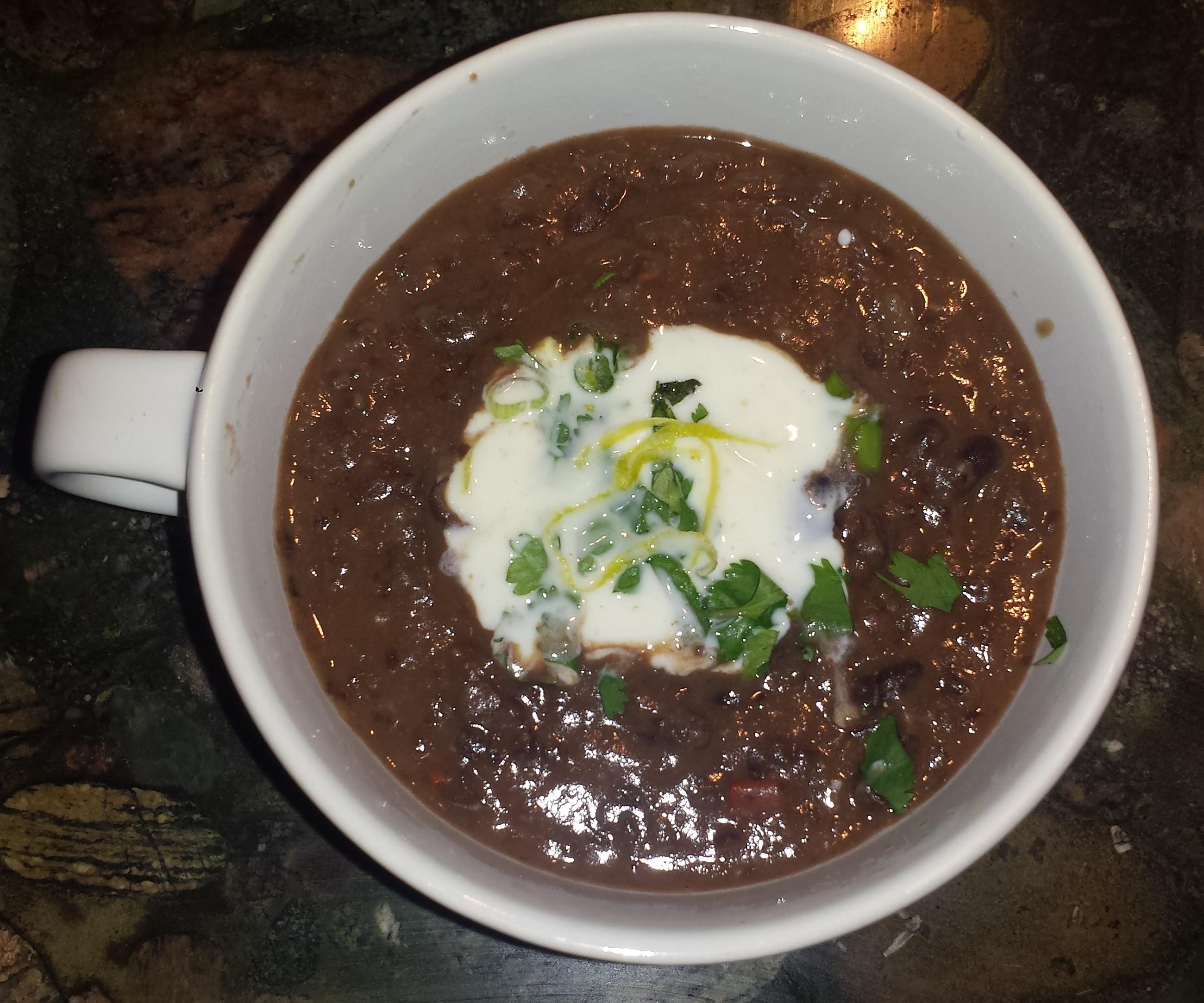 Black Bean Soup1