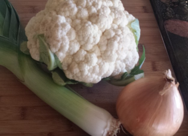 Cauliflower Leek Soup13
