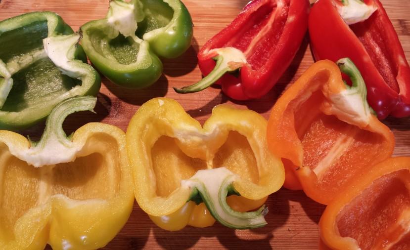 Quinoa Stuffed Peppers10