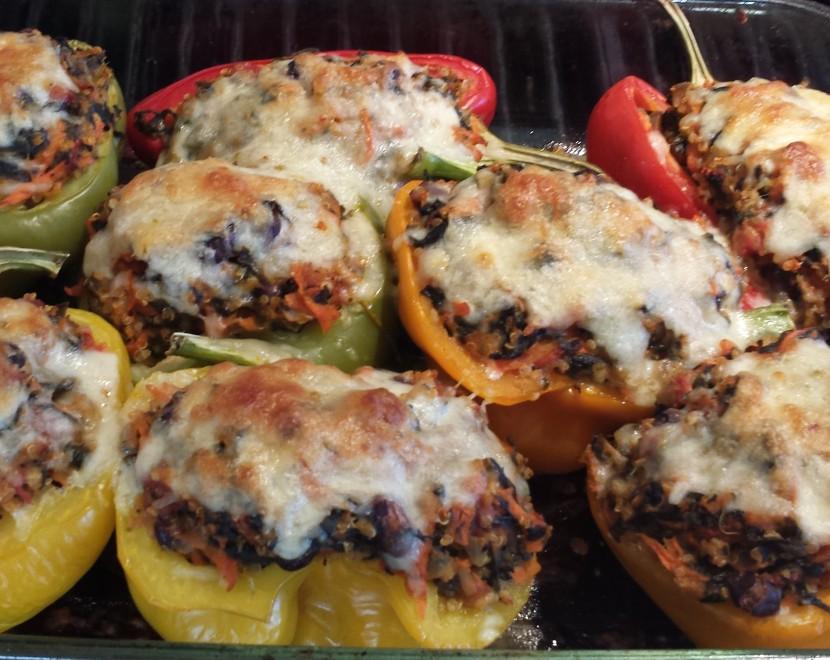 Quinoa Stuffed Peppers3