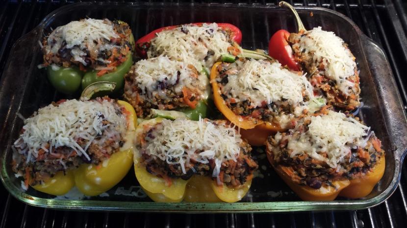 Quinoa Stuffed peppers4