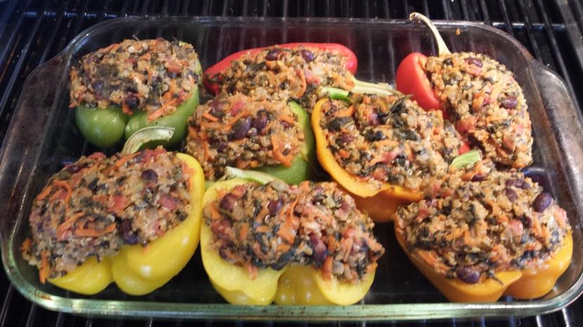 Quinoa Stuffed Peppers5