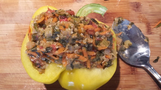 Quinoa Stuffed Peppers7