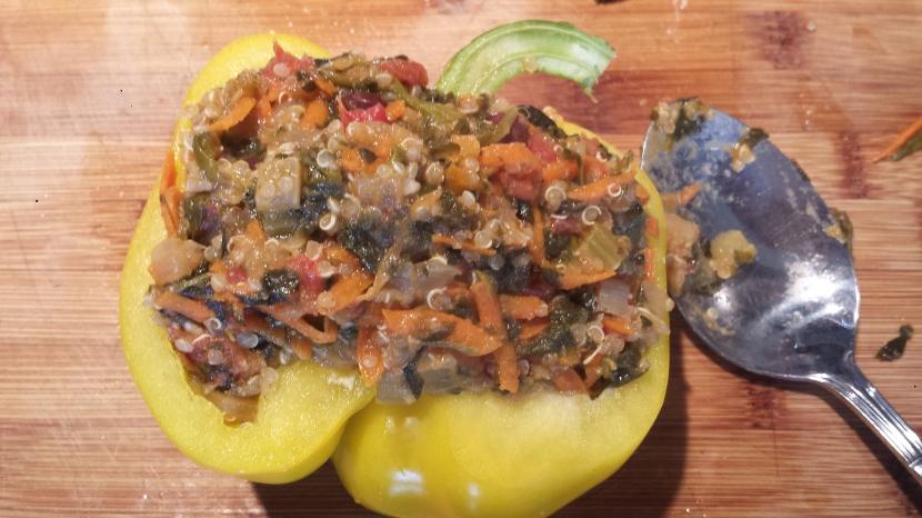 Quinoa Stuffed Peppers7