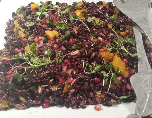 Black Rice Dish