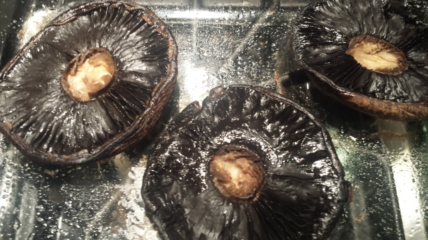 Portobello Stuffed with Greens7