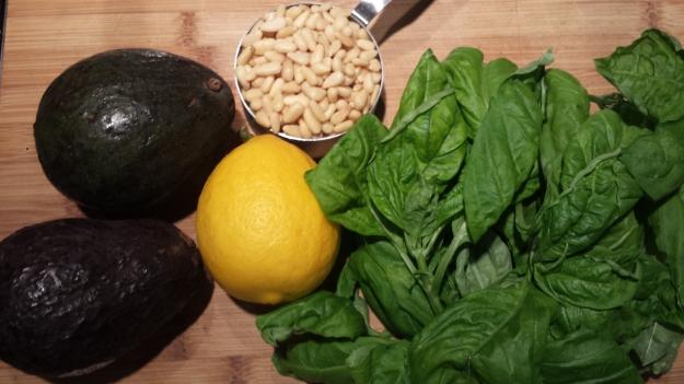 Avocado Pesto Pasta10