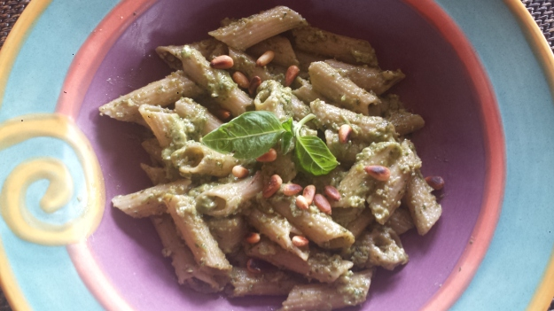 Avocado Pesto Pasta13