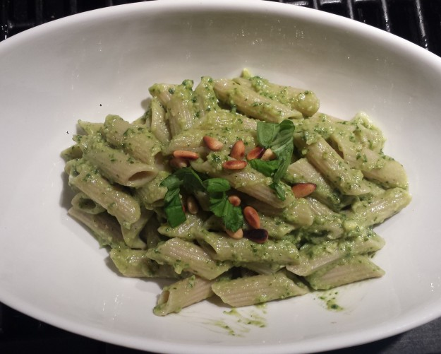 Avocado Pesto Pasta2