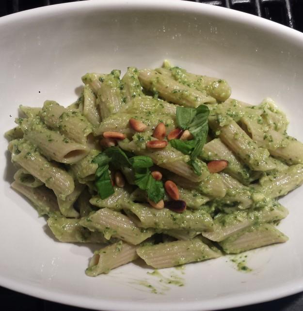 Avocado Pesto Pasta2