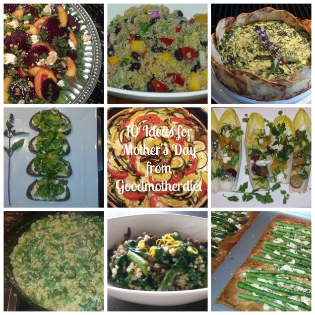 Goodmotherdiet Mothers Day Collage