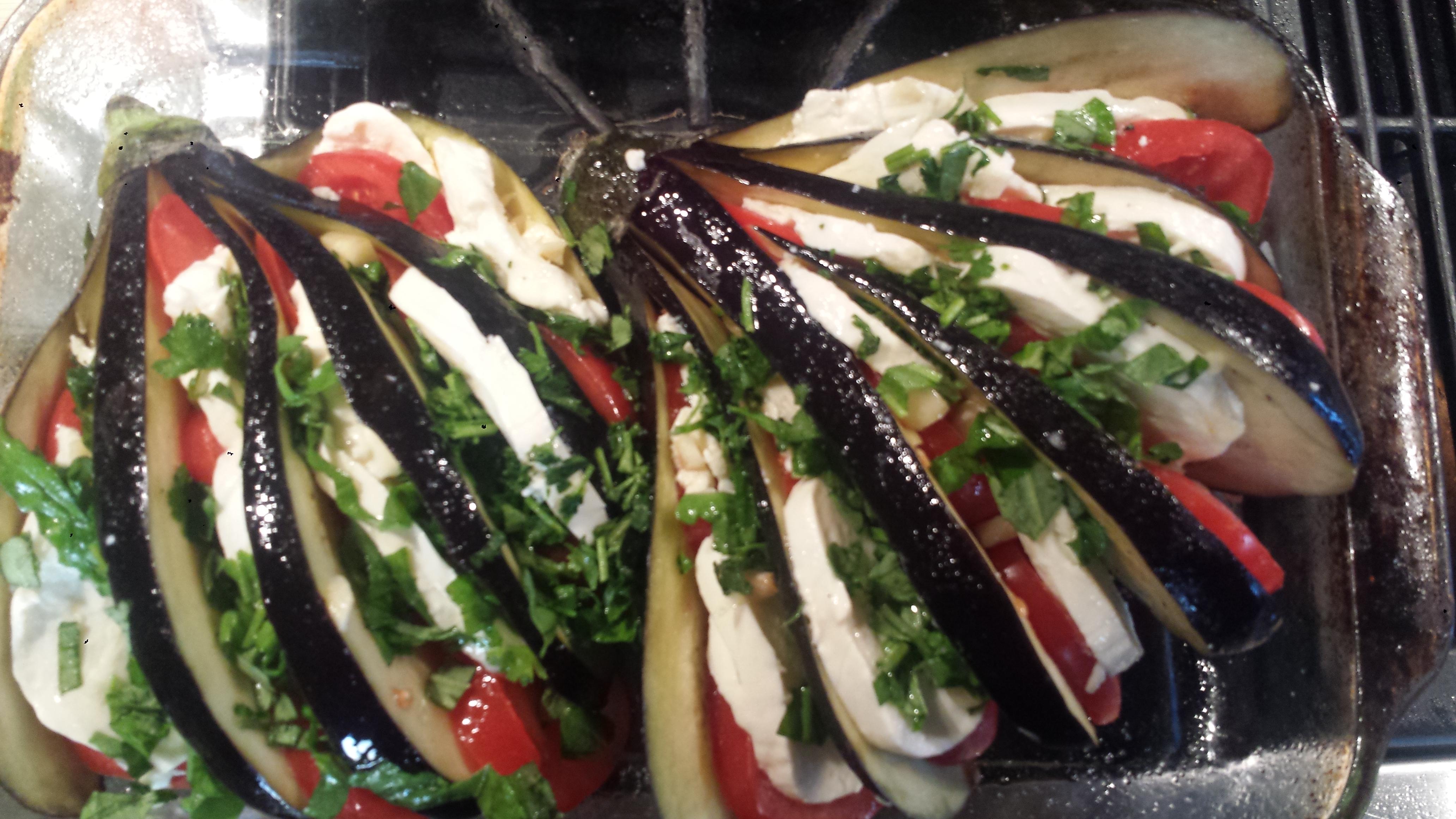 pictures Tomato, Zucchini, and Eggplant Gratin