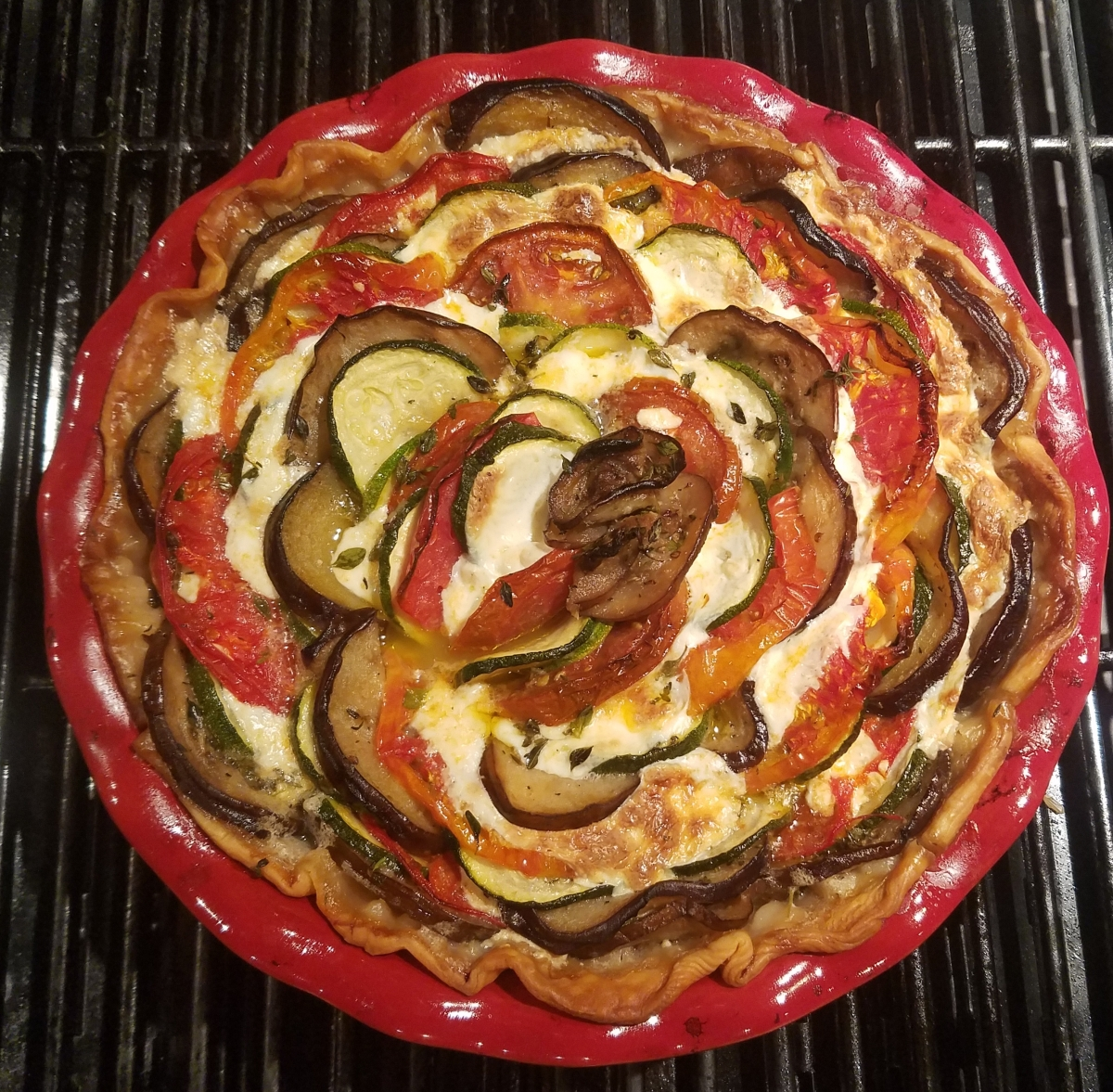 Meatless Monday - Easy Vegetable Tart