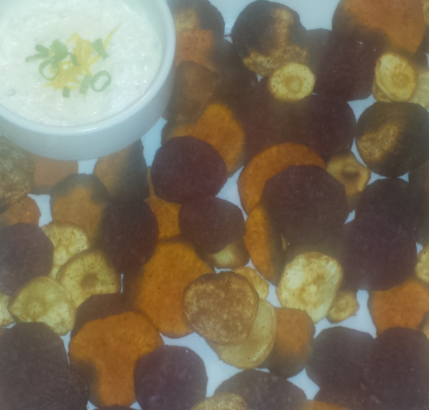 Root Vegetable Chips13